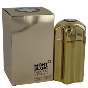 Montblanc Emblem Absolu by Mont Blanc Eau De Toilette Spray 3.4 oz Men