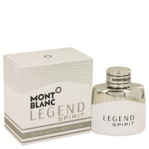 Montblanc Legend Spirit by Mont Blanc Eau De Toilette Spray 1 oz Men