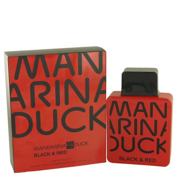Mandarina Duck Black & Red by Mandarina Duck Eau De Toilette Spray 3.4 oz Men