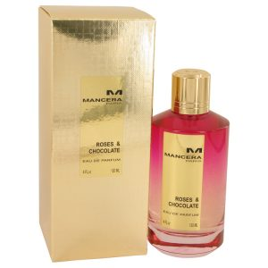 Mancera Roses & Chocolate by Mancera Eau De Parfum Spray (Unisex) 4 oz Women