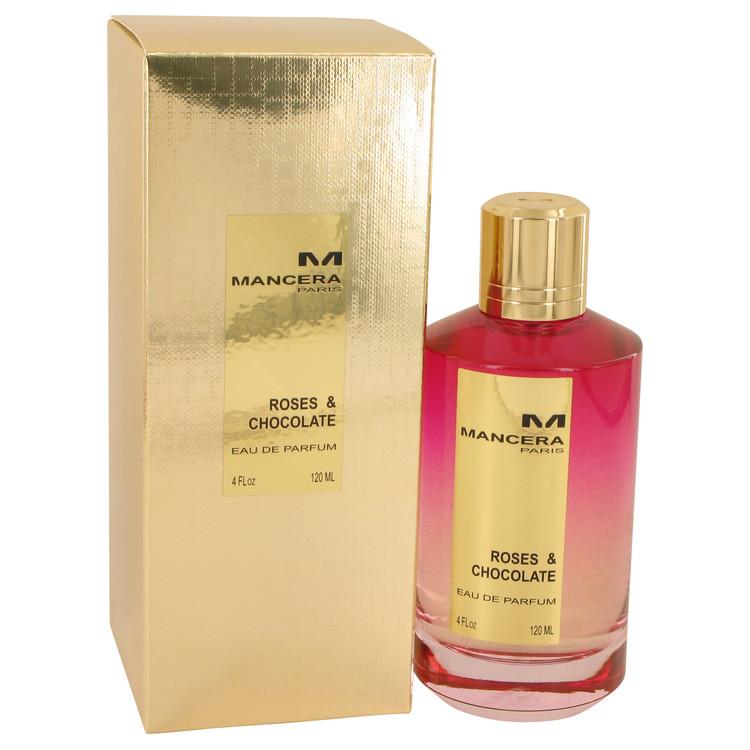 Mancera Roses & Chocolate by Mancera Eau De Parfum Spray (Unisex) 4 oz Women