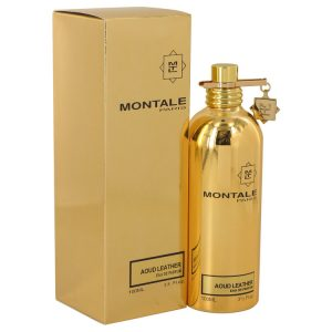 Montale Aoud Leather by Montale Eau De Parfum Spray (Unisex) 3.4 oz Women
