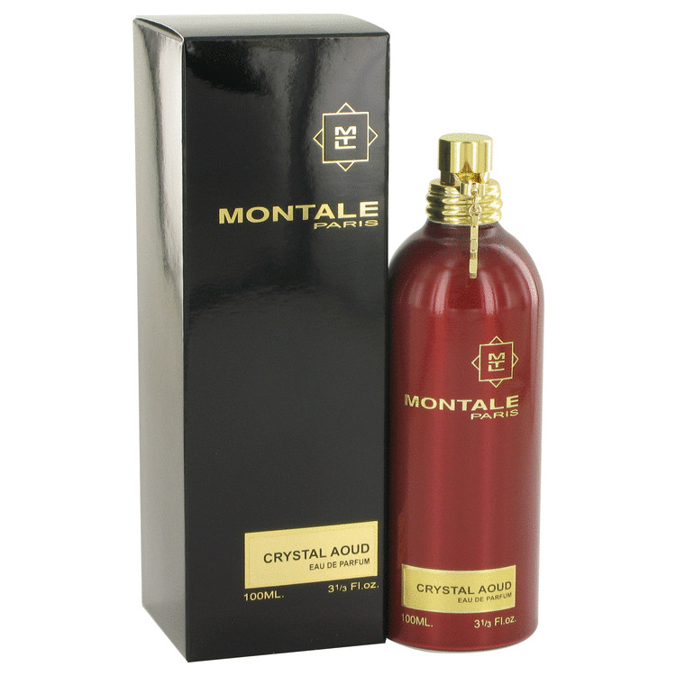 Montale Crystal Aoud by Montale Eau De Parfum Spray 3.3 oz Women