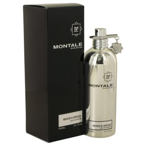 Montale Wood & Spices by Montale Eau De Parfum Spray 3.4 oz Men