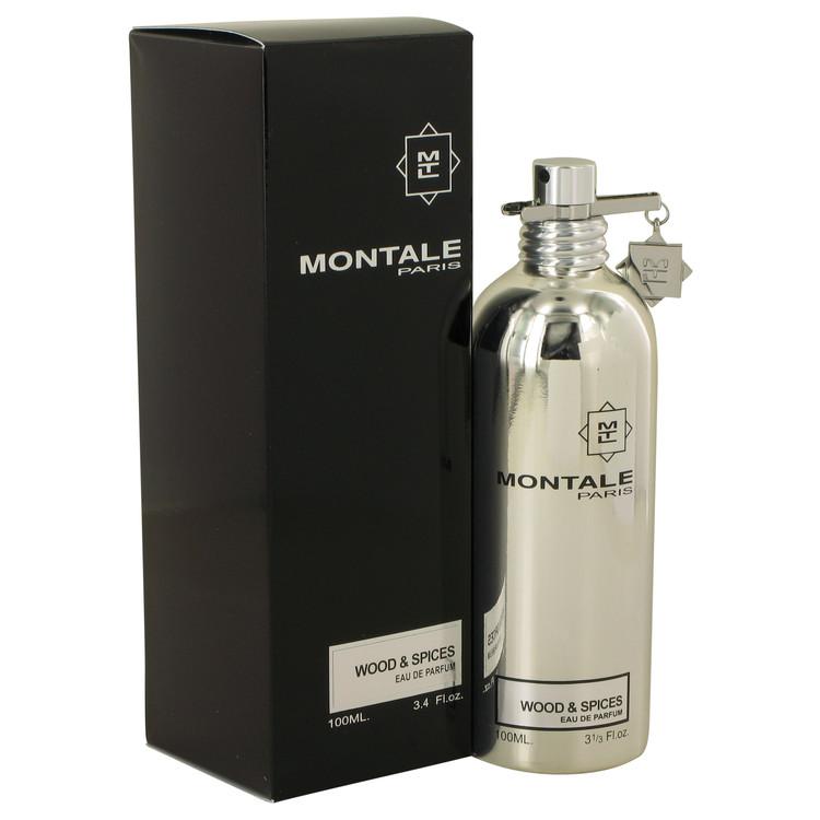 Montale Wood & Spices by Montale Eau De Parfum Spray 3.4 oz Men