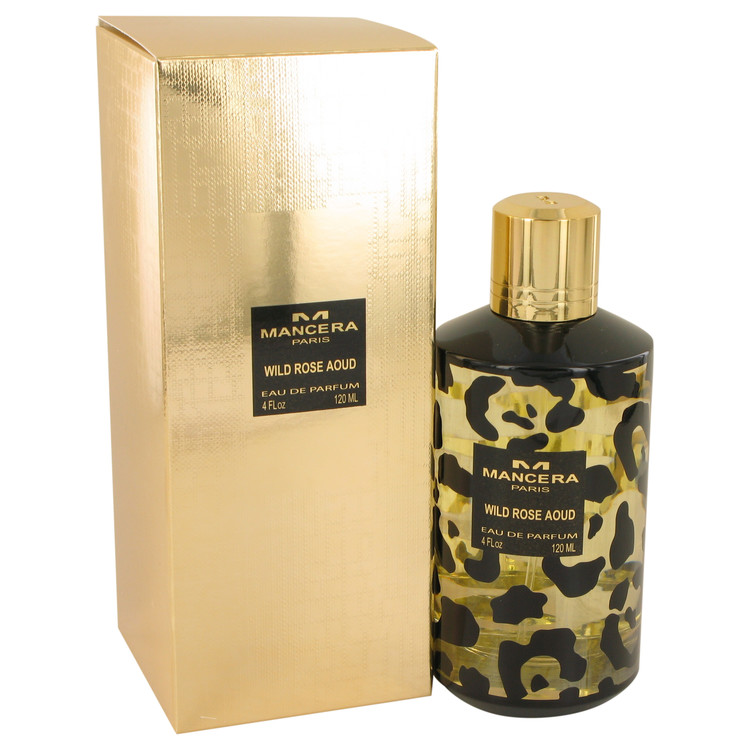 Mancera Wild Rose Aoud by Mancera Eau De Parfum Spray (Unisex) 4 oz Women