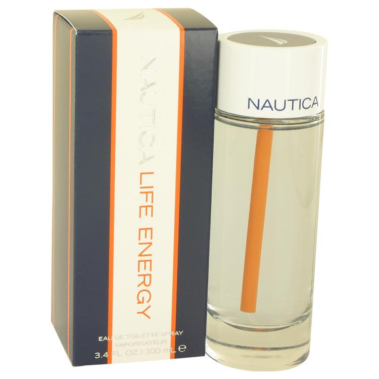 Nautica Life Energy by Nautica Eau De Toilette Spray 3.4 oz Men