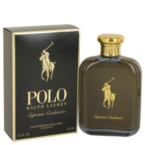 Polo Supreme Cashmere by Ralph Lauren Eau De Parfum Spray 4.2 oz Men