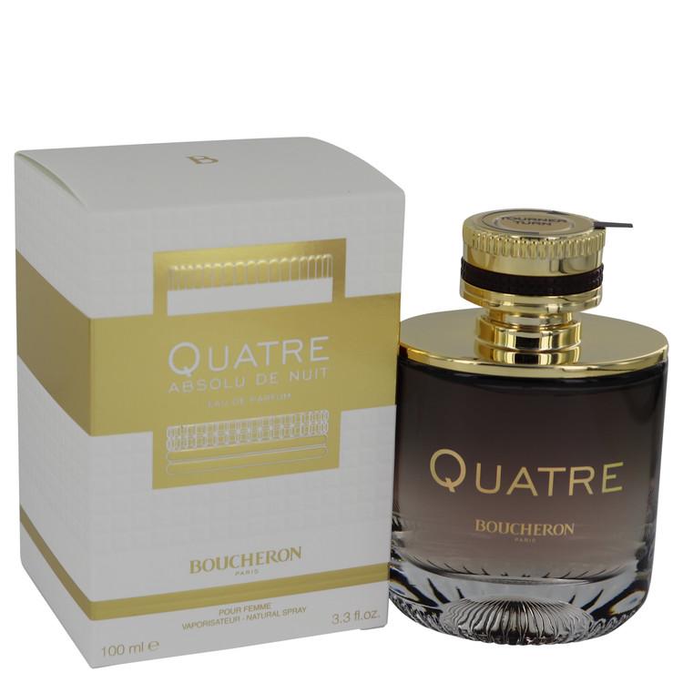 Quatre Absolu De Nuit by Boucheron Eau De Parfum Spray 3.3 oz Women