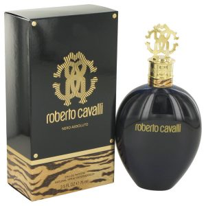 Roberto Cavalli Nero Assoluto by Roberto Cavalli Eau De Parfum Spray 2.5 oz Women