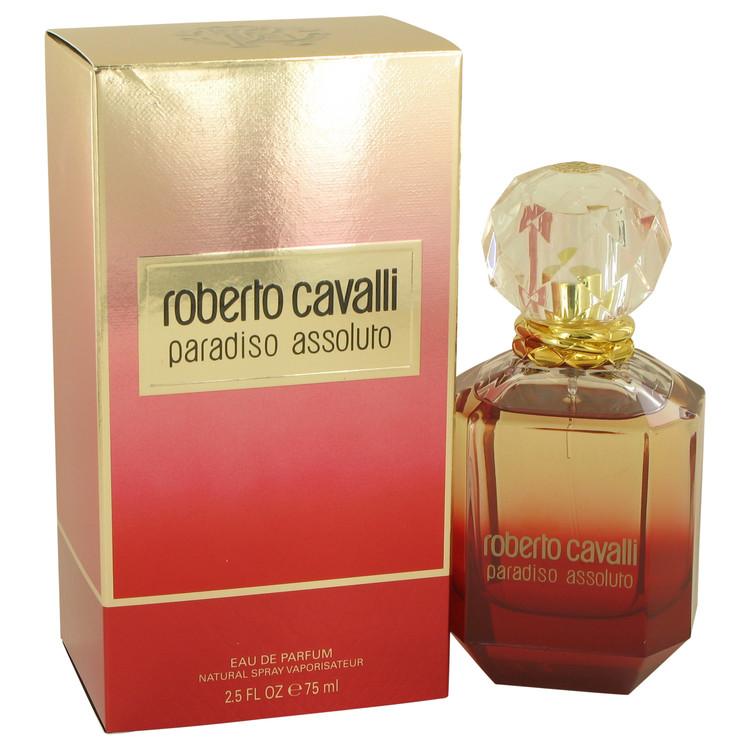 Roberto Cavalli Paradiso Assoluto by Roberto Cavalli Eau De Parfum Spray 2.5 oz Women