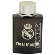 Real Madrid Black by Air Val International Eau De Toilette Spray (Tester) 3.4 oz Men