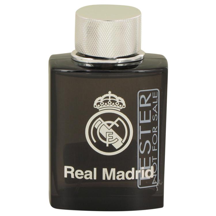 Real Madrid Black by Air Val International Eau De Toilette Spray (Tester) 3.4 oz Men