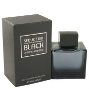 Seduction In Black by Antonio Banderas Eau De Toilette Spray 3.4 oz Men