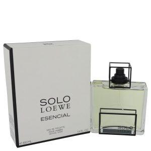 Solo Loewe Esencial by Loewe Eau De Toilette Spray 3.4 oz Men