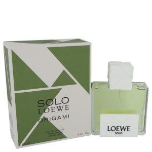 Solo Loewe Origami by Loewe Eau De Toilette Spray 3.4 oz Men