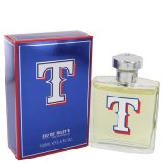 Texas Rangers by Texas Rangers Eau De Toilette Spray 3.4 oz Men