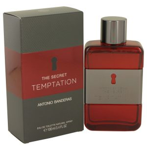 The Secret Temptation by Antonio Banderas Eau De Toilette Spray 3.4 oz Men