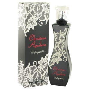 Christina Aguilera Unforgettable by Christina Aguilera Eau De Parfum Spray 2.5 oz Women