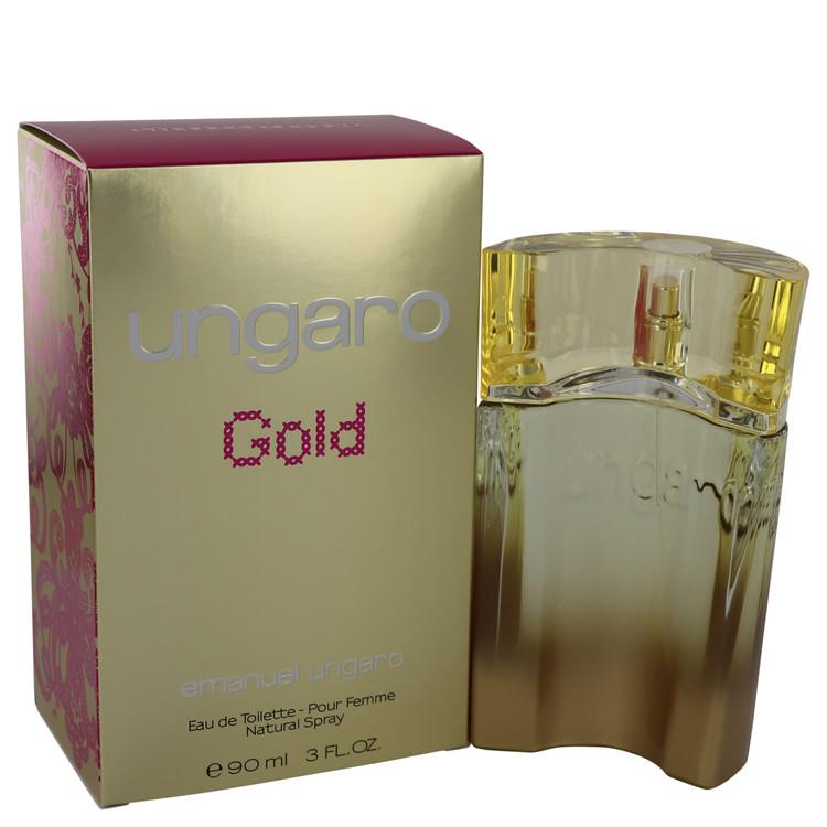 Ungaro Gold by Emanuel Ungaro Eau De Toilette Spray 3 oz Women
