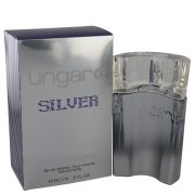 Ungaro Silver by Emanuel Ungaro Eau De Toilette Spray 3 oz Men