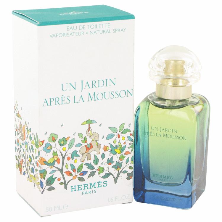 Un Jardin Apres La Mousson by Hermes Eau De Toilette Spray 1.7 oz Women