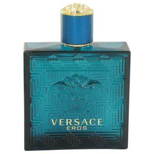 Versace Eros by Versace Eau De Toilette Spray (Tester) 3.4 oz Men