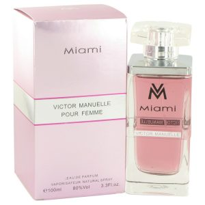 Victor Manuelle Miami by Victor Manuelle Eau De Parfum Spray 3.4 oz Women