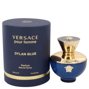 Versace Pour Femme Dylan Blue by Versace Eau De Parfum Spray 3.4 oz Women