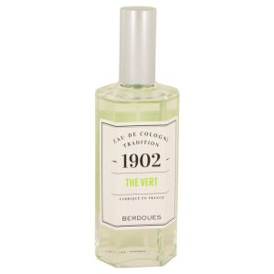 1902 Green Tea by Berdoues Eau De Cologne (Unisex unboxed) 4.2 oz Men