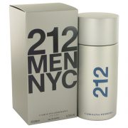 212 by Carolina Herrera Eau De Toilette Spray 6.8 oz Men