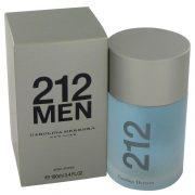 212 by Carolina Herrera After Shave 3.4 oz Men