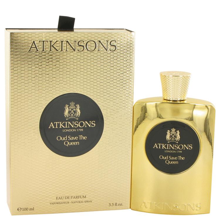 Oud Save The Queen by Atkinsons Eau De Parfum Spray 3.3 oz Women