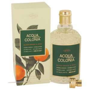 4711 Acqua Colonia Blood Orange & Basil by Maurer & Wirtz Eau De Cologne Spray (Unisex) 5.7 oz Women