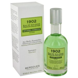 1902 Vetiver by Berdoues Eau De Cologne Spray (Unisex Tester) 4.25 oz Men