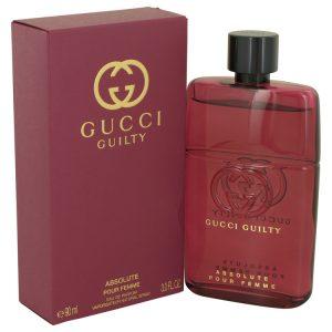 Gucci Guilty Absolute by Gucci Eau De Parfum Spray (Tester) 3 oz Women