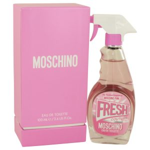 Moschino Pink Fresh Couture by Moschino Eau De Toilette Spray (Tester) 3.4 oz Women