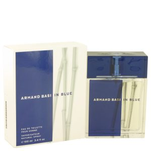 Armand Basi In Blue by Armand Basi Eau De Toilette Spray 3.4 oz Men