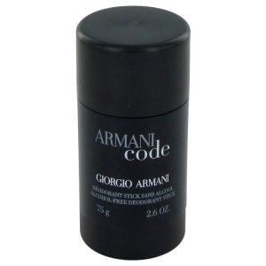 Armani Code by Giorgio Armani Deodorant Stick 2.6 oz Men