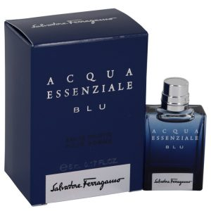 Acqua Essenziale Blu by Salvatore Ferragamo Mini EDT .17 oz Men