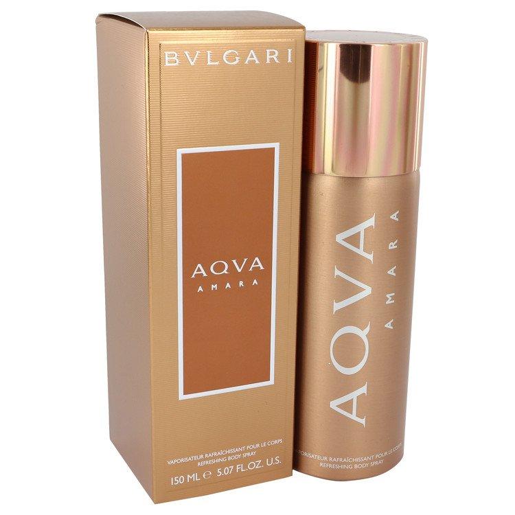 Bvlgari Aqua Amara by Bvlgari Body Spray 5 oz Men