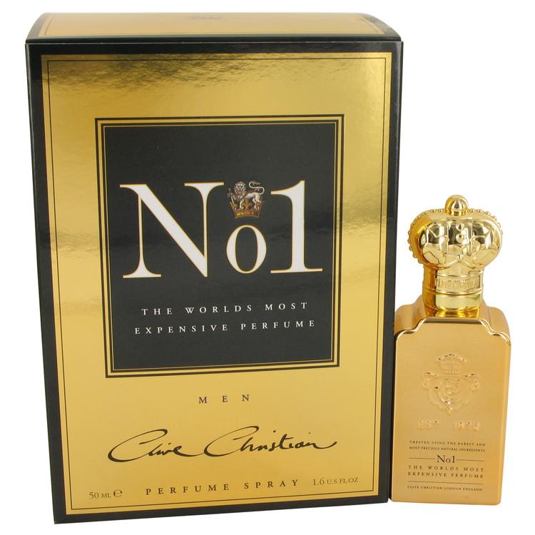 Clive Christian No. 1 by Clive Christian Pure Perfume Spray 1.6 oz Men