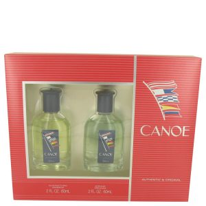CANOE by Dana Gift Set -- 2 oz Eau De Toilette Spray + 2 oz After Shave Men