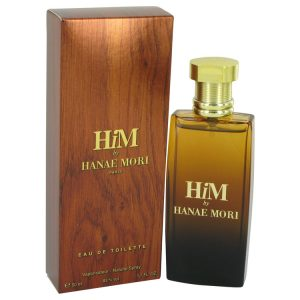 Hanae Mori Him by Hanae Mori Eau De Toilette Spray 1.7 oz Men