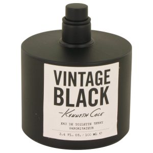 Kenneth Cole Vintage Black by Kenneth Cole Eau De Toilette Spray (Tester) 3.4 oz Men