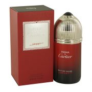 Pasha De Cartier Noire Sport by Cartier Eau De Toilette Spray 3.3 oz Men