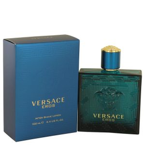 Versace Eros by Versace After Shave Lotion 3.4 oz Men