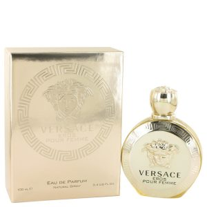 Versace Eros by Versace Eau De Parfum Spray 3.4 oz Women