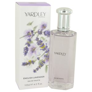 English Lavender by Yardley London Eau De Toilette Spray (Unisex) 4.2 oz Women