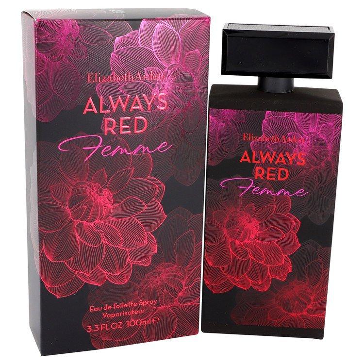 Always Red Femme by Elizabeth Arden Eau De Toilette Spray 3.3 oz Women
